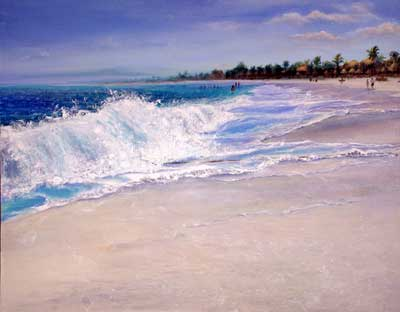 mexico beach pics. Original Oil Paintings Suzanne